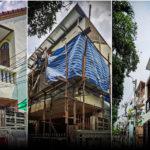 """""""รีโนเวทบ้านใหม่บนโครงสร้างเดิม"""" จากบ้านเก่าสู่บ้านโมเดิร์น เผยทุกขั้นตอนอย่างละเอียดยิบ"""