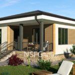 แบบบ้านชั้นเดียวยกพื้นแนวรีสอร์ท ออกแบบเรียบง่าย บรรยากาศอบอุ่น เข้ากับธรรมชาติ