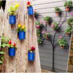 """12 ไอเดีย DIY """"กระถางแขวนจากของเหลือใช้"""" สร้างสรรค์ผนังให้ดูสดชื่น เพิ่มพื้นที่สีเขียวในบ้าน"""