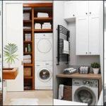 """20 ไอเดีย """"ห้องซักล้างขนาดเล็ก"""" พื้นที่สร้างความสะอาดสดชื่นในแบบกะทัดรัด"""