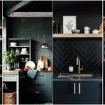 """24 ไอเดีย """"ห้องครัวโทนสีดำ"""" สร้างเสน่ห์เท่ๆ ขรึมๆ ให้กับการรังสรรค์มื้ออาหาร"""