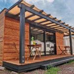 บ้านน็อคดาวน์โครงสร้างเหล็ก ขนาดกะทัดรัด 1 ห้องนอน 1 ห้องน้ำ พื้นที่ใช้สอย 25 ตร.ม.