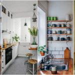 """30 ไอเดีย """"ห้องครัวขนาดเล็ก"""" ตกแต่งมุมทำอาหารน้อยๆ ให้สวยงามมีสไตล์ ใช้งานได้สะดวกครบครัน"""
