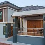 บ้านชั้นครึ่งสไตล์คอนเทมโพรารี ดีไซน์เพดานยกสูง พื้นที่ใช้สอยกว้างขวาง 4 ห้องนอน 2 ห้องน้ำ