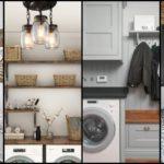 """34 ไอเดีย """"ห้องซักรีดในบ้าน"""" เปลี่ยนมุมทำงานบ้านให้สวยงามน่าใช้งาน"""