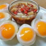 """""""ไข่ต้มตาหวาน"""" ไข่ต้มธรรมดาที่ไม่ธรรมดา เพิ่มความอร่อยให้กับมื้ออาหารของคุณ"""