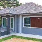 บ้านชั้นเดียวสไตล์คอนเทมโพรารี ดีไซน์เรียบง่าย 3 ห้องนอน 2 ห้องน้ำ สวยงาม ครบครัน พร้อมอยู่อาศัย