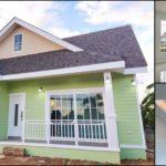 บ้านชั้นเดียวสไตล์คันทรีคอจเทจโทนสีเขียวพาสเทลสุดน่ารัก2 ห้องนอน 1 ห้องน้ำ พร้อมระเบียงนั่งเล่นหน้าบ้าน