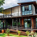 บ้านน็อคดาวน์สองชั้นสไตล์โมเดิร์น 3 ห้องนอน 3 ห้องน้ำ ออกแบบชั้นสองเปิดโล่ง ใช้งานได้เอนกประสงค์