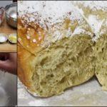 """แจกสูตร """"ขนมปังชาเขียวมัทฉะ"""" ขนมปังสุดนุ่ม หวานน้อย หอมกลิ่นชาเขียว"""
