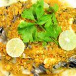 """ชวนเข้าครัวทำ """"ปลานิลนึ่งมะนาว"""" เนื้อปลาแน่นฉ่ำ ราดด้วยน้ำจิ้มซีฟู้ดรสแซ่บ"""