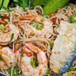 """แจกสูตร """"ยำขนมจีนใส่ปลาทู"""" ยำรสแซ่บ พร้อมเคล็ดลับในการยำให้เส้นขนมจีนไม่เละ"""
