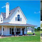 แบบบ้านสองชั้นสไตล์ฟาร์มเฮาส์ เข้ากับบรรยากาศของท้องทุ่งชนบท 3 ห้องนอน 2 ห้องน้ำ พื้นที่ใช้สอย 134 ตร.ม.
