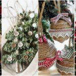 """25 ไอเดีย """"เครื่องประดับต้นคริสต์มาส"""" ดีไซน์น่ารัก เพิ่มกลิ่นอายแบบรัสติก สร้างบรรยากาศอบอุ่นให้ทุกมุมของบ้าน"""