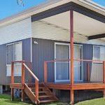 บ้านตู้ไม้ดีไซน์เคบิน ขนาดกะทัดรัดแต่ภายในดูกว้างโปร่ง เหมาะสำหรับการพักผ่อนไม่เกิน 2 คน