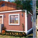 แบบบ้านหลังเล็กสไตล์คันทรีคอทเทจ1 ห้องนอน 1 ห้องน้ำ พื้นที่ใช้สอย 30 ตร.ม. เหมาะสำหรับคนโสดหรือคู่รัก
