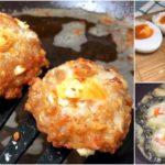 """""""หมูสับทอดไข่เค็ม"""" หอมมันลงตัว จะกินเป็นกับแกล้มก็ดี หรือทานคู่ข้าวสวยก็อิ่มอร่อย"""