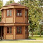 กระท่อมไม้ทรงแปดเหลี่ยม มองวิวได้รอบทิศ 360 องศา ไอเดียบ้านสวยกลางธรรมชาติ ในดีไซน์ที่เป็นเอกลักษณ์