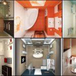 """24 ไอเดีย """"ห้องน้ำกะทัดรัด"""" เน้นฟังก์ชันสะดวกสบาย ครบครันในพื้นที่แคบ"""