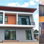 บ้านสองชั้นสไตล์คอนเทมโพรารี 4 ห้องนอน 3 ห้องน้ำ ออกแบบให้มีพื้นที่ใช้สอยกว้างขวางทั้งสองชั้น
