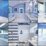 """14 ไอเดีย """"ห้องน้ำสีฟ้า"""" บรรยากาศอบอุ่น ผ่อนคลาย เติมเต็มความสุขระหว่างการใช้เวลาส่วนตัว"""