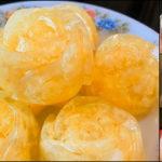 """""""วุ้นไข่"""" เมนูของหวานที่อร่อยลงตัวระหว่างของหวาน และของคาว"""