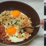 """ชวนทำ """"ไข่กระทะ"""" อาหารเช้าสารอาหารครบถ้วน ทำง่ายภายใน 4 ขั้นตอน"""