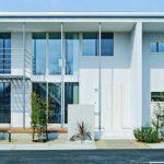 แบบบ้านสองชั้นแนวโมเดิร์นมินิมอล ดีไซน์พื้นที่ใช้ชีวิตแบบ Open Space สัมผัสความเรียบง่ายสไตล์ญี่ปุ่น