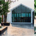 บ้านโมเดิร์นทรงห้าเหลี่ยม เต็มอิ่มกับพื้นที่สำหรับทุกกิจกรรมทั้งกลางแจ้งและในร่ม